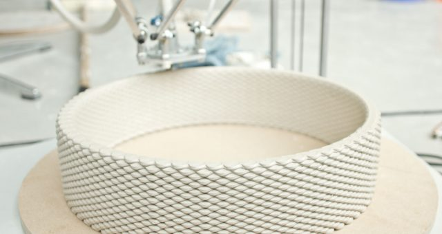 Stampa 3d e ceramica: fra arte e sperimentazione