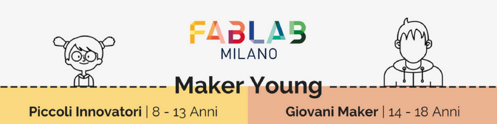 Summer Campus 2018 maker young fablab milano